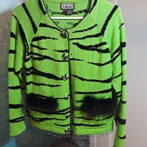Vintage 90s the collective works of Berek sweater